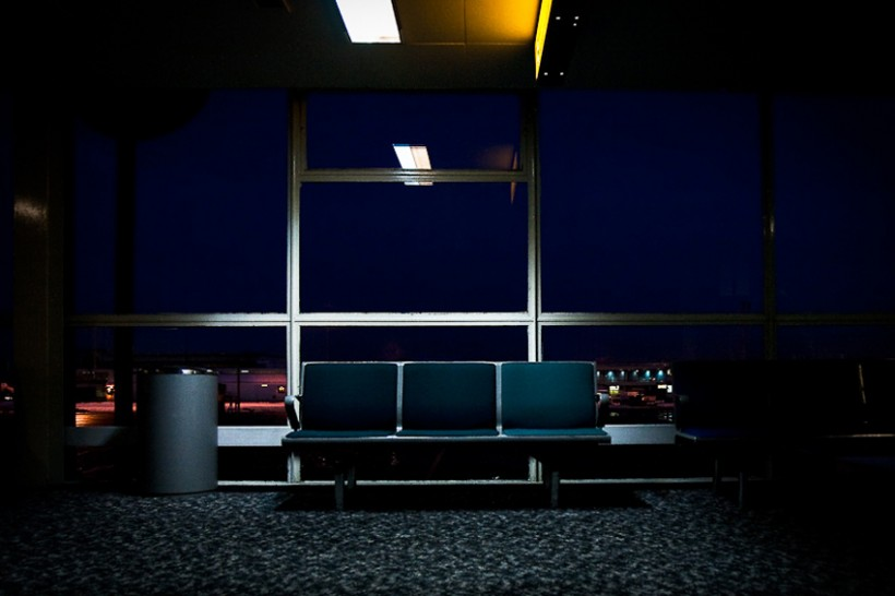Airport, from 'Unoccupied' series