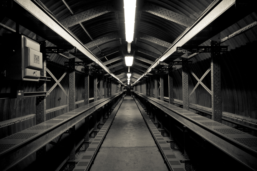 Service tunnel, Glasgow
