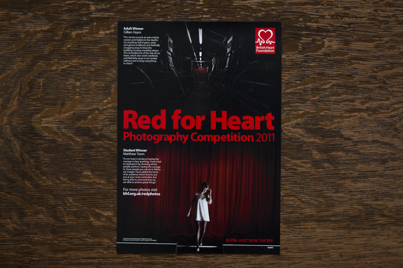Winner of 'Red for Heart' competition,